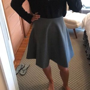 Grey Wool Marc Jacobs Circle Skirt size 12
